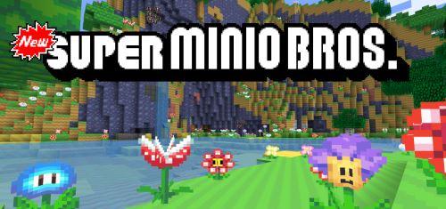 New Super Minio Bros. для Майнкрафт 1.10.2