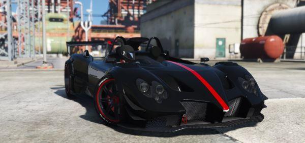 Pagani Zonda LM-R Ragno для GTA 5