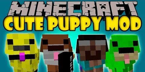 Cute Puppy для Майнкрафт 1.10.2