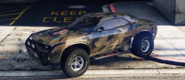 Dodge Challenger — Raid для GTA 5