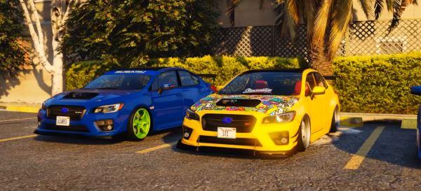 2016 Subaru WRX STI для GTA 5