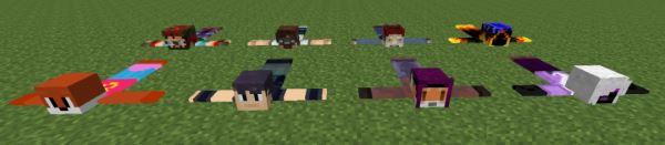 Player Rugs для Майнкрафт 1.10.2