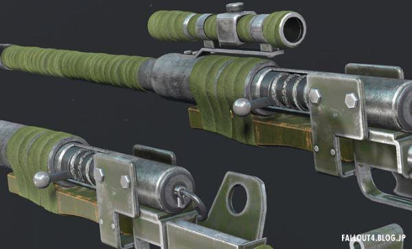 Самодельная антиматериальная винтовка для Fallout 4