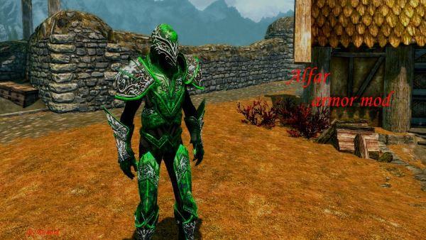 Alfar armor mod для TES V: Skyrim