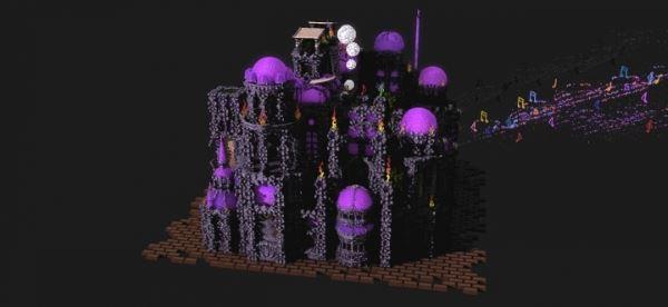 Piano Castle для Майнкрафт 1.10.2