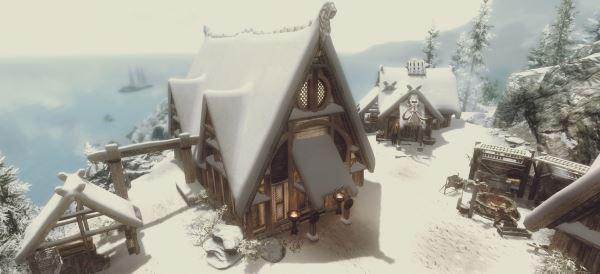 JKs Skaal village для TES V: Skyrim