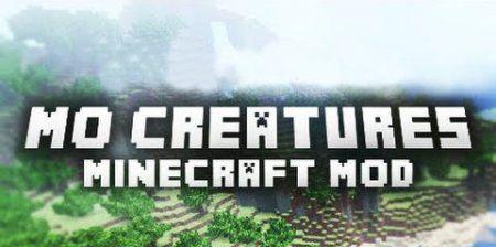 Mo Creatures для Майнкрафт 1.10.2