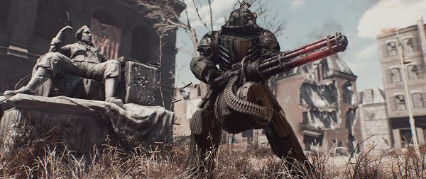 Силовая Броня Воздушного Десанта Т-51с / T51c AirForce Power Armor для Fallout 4