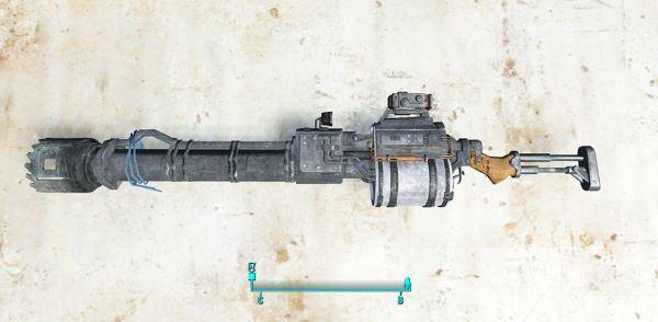 Реткстур Гвоздемета / Retexture Railway rifle для Fallout 4
