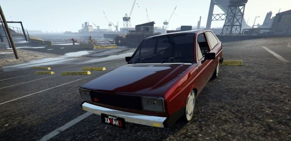 Volkswagen Golf Turbo для GTA 5