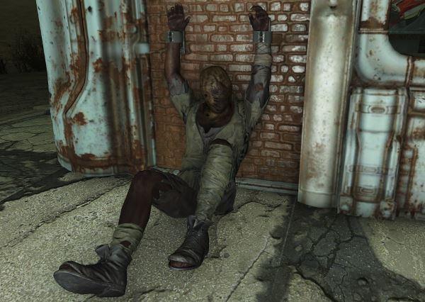 Кандалы для пленников - Prisoner Shackles для Fallout 4