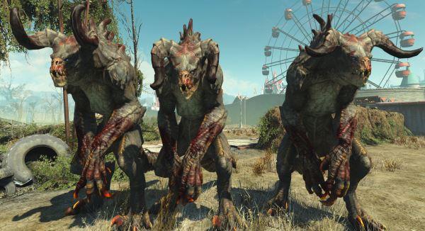 Большее разнообразие когтей смерти - More Deathclaw Variety для Fallout 4