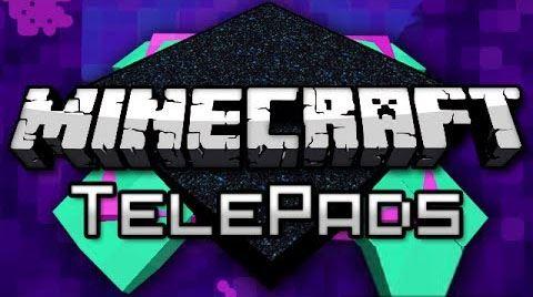 TelePads для Майнкрафт 1.10.2