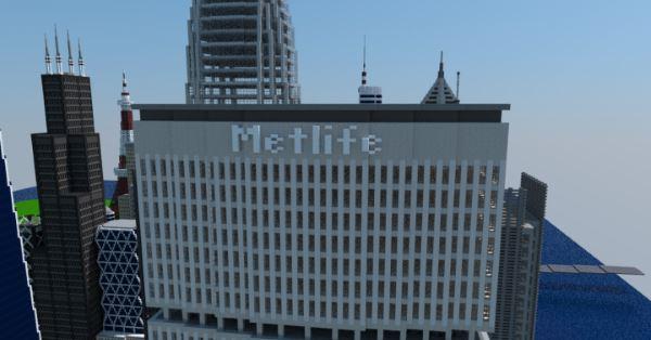 Metlife Tower для Майнкрафт 1.10.2