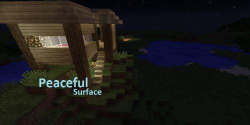 PeacefulSurface для Майнкрафт 1.10.2
