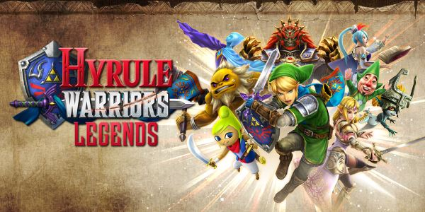 Патч для Hyrule Warriors Legends v 1.0