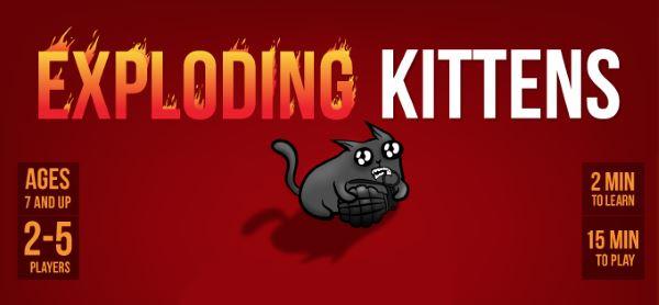 Сохранение для Exploding Kittens (100%)