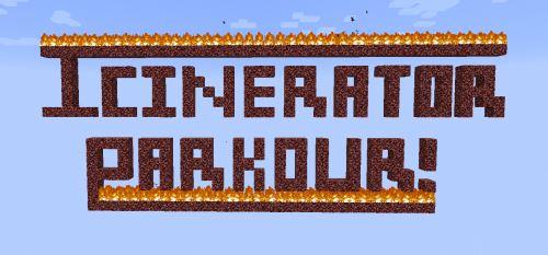 Incinerator Parkour для Майнкрафт 1.10.2