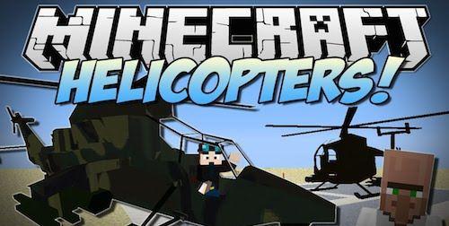 MC Helicopter для Майнкрафт 1.7.10