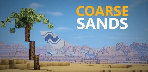 Coarse Sands для Майнкрафт 1.10.2