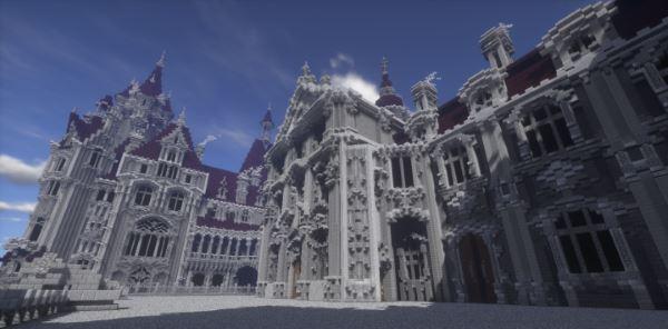 The Moszna Castle для Майнкрафт 1.10.2