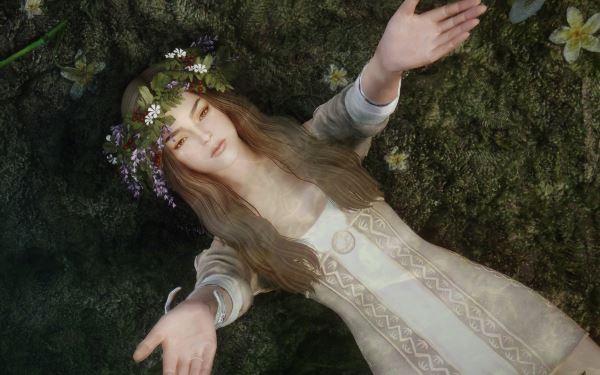 Офелия - Украшения для волос - Ophelia Accessories для TES V: Skyrim