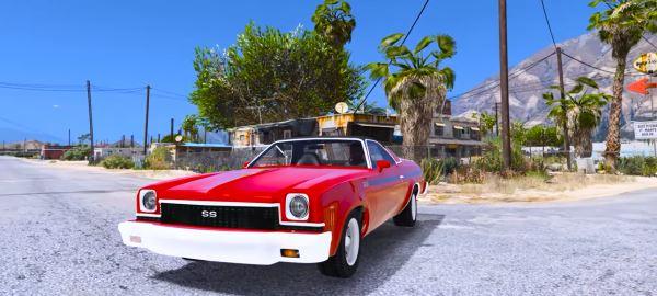 Chevrolet El Camino 1973 для GTA 5