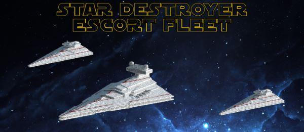 Escort Fleet для Майнкрафт 1.10.2