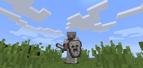 Spartan Shields для Майнкрафт 1.10.2