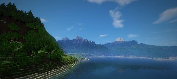 Escarion Island для Майнкрафт 1.10.2