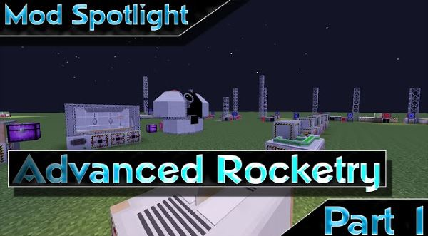 Advanced Rocketry для Майнкрафт 1.10.2