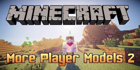 More Player Models 2 для Майнкрафт 1.10.2