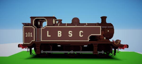E2 Class Locomotive для Майнкрафт 1.10.2