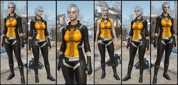 Форма пилота братства - BoS Pilot Uniform для Fallout 4