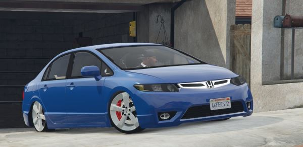 2010 Honda New Civic LXL для GTA 5