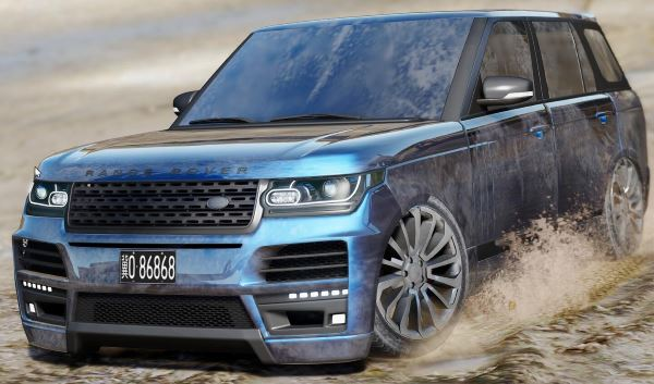 Land Rover Range Rover Startech [Add-On / Replace] для GTA 5