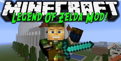 Legend of Zelda для Майнкрафт 1.10.2