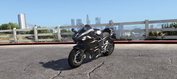 Kawasaki Ninja H2 & H2R для GTA 5