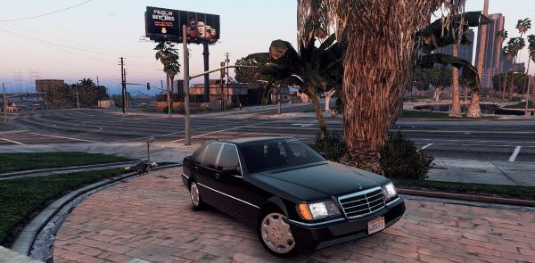 Mercedes-Benz 600 SEL W140 [Add-On / Replace] для GTA 5