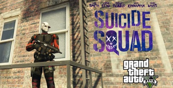 Deadshot (Suicide Squad) [Add-On Ped] для GTA 5