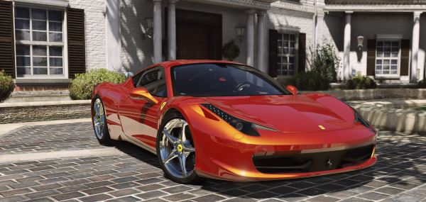 Ferrari 458 Italia AUTOVISTA [Add-On / Replace] для GTA 5