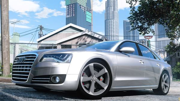2010 Audi A8 FSI [Add-On / Replace] для GTA 5