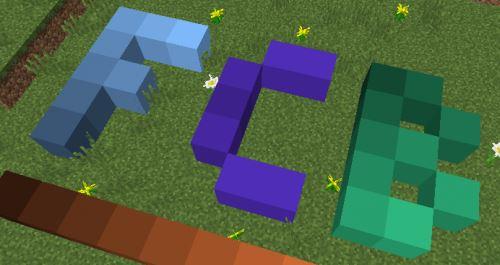 Flat Colored Blocks для Майнкрафт 1.10.2