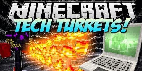 Turret Mod Rebirth для Майнкрафт 1.10.2