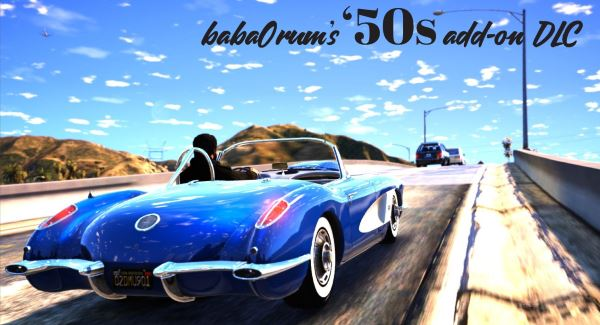 [R5] baba0rum's 50s Cars for Retro Five [Add-On|Tuning] для GTA 5