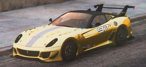 2012 Ferrari 599xx Evoluzione [Replace] для GTA 5