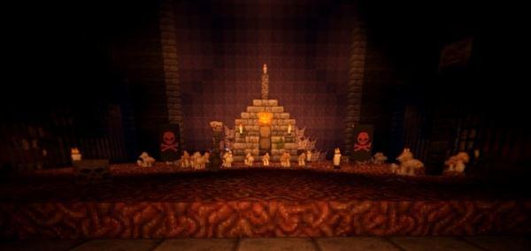 Halloween Maison для Майнкрафт 1.10.2