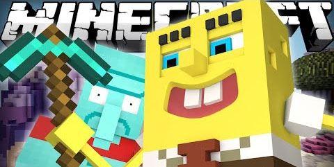 Spongebob для Майнкрафт 1.10.2
