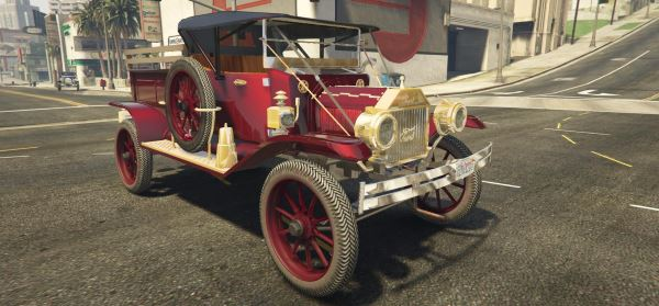 Old Cars Pack [Add-On] для GTA 5