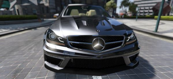 Mercedes-Benz C63 ///AMG 2013 [Add-On] для GTA 5